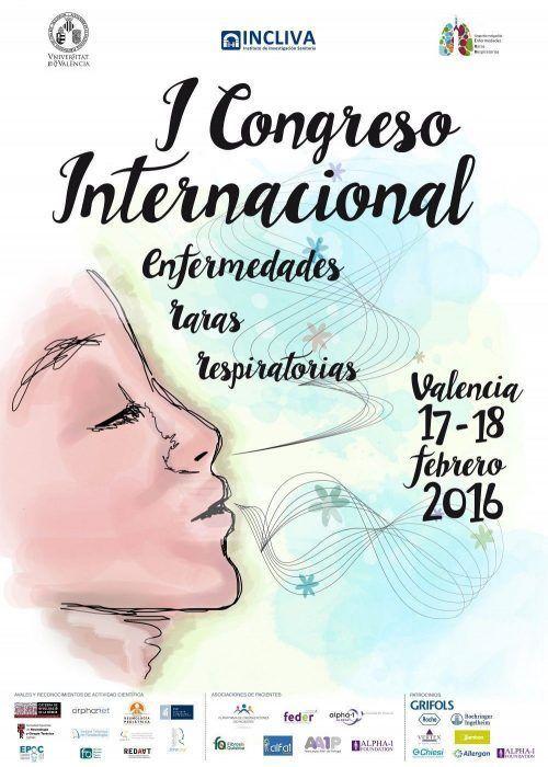 CONGRESO INTERNACIONAL E.RARAS RESPIRATORIAS VALENCIA