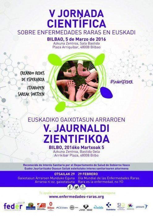 V JORNADA CIENTÍFICA DE ENFERMEDADES RARAS DE EUSKADI