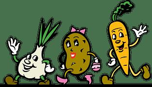vegetales alimentacion