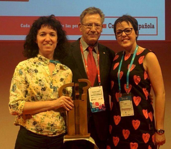 """La Federación española premio Cruz Roja por su app móvil """"FQ-UP"""""""