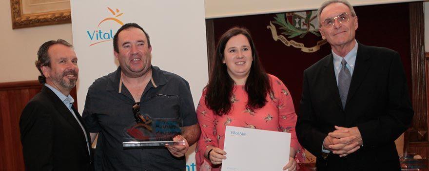 Fq Euskadi recoge premio VitalAire
