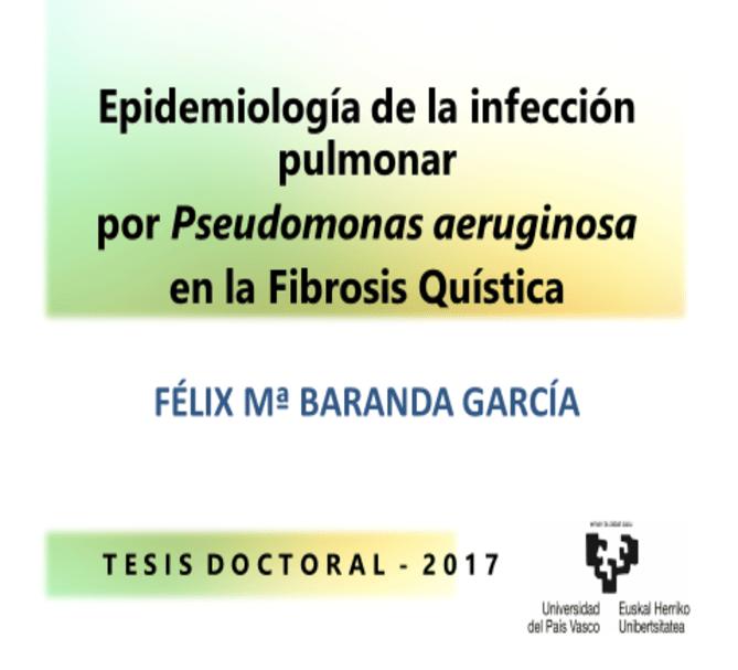 TESIS DOCTORAL FIBROSIS QUÍSTICA DR.FELIX BARANDA