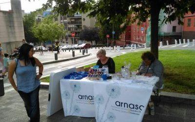 SOLIDARIDAD CON ARNASA BIZKAIA EN LAS FIESTAS MIRIVILLA 2017
