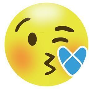 Emoji beso salado ARNASA