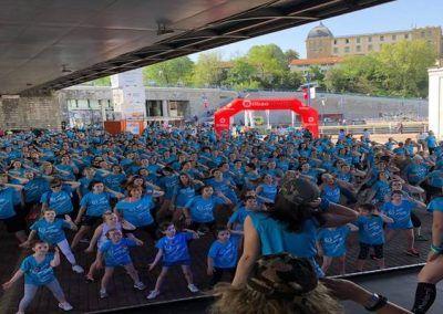 zumba 2018 fibrosis quistica Arnasa gente bailando