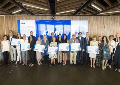 Galardonados en KPMG Proyectos que transforman las sociedad 26-6-2018