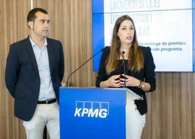Oihane de KPMG Proyectos que transforman las sociedad 26-6-2018