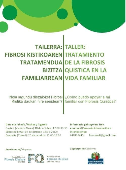 TALLER TRATAMIENTO FQ VIDA FAMILIAR