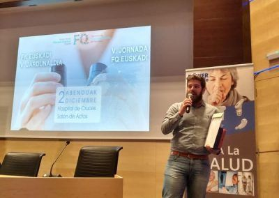 Javier Prieto Premio Besos salados 2018