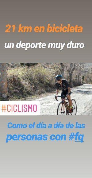 21 km bicicleta