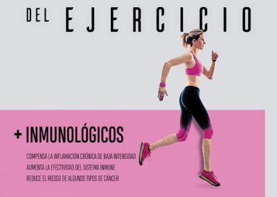 Ejercicio fisico efectos inmunológicos
