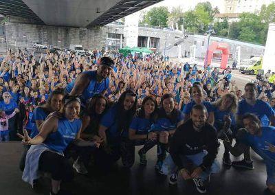 Maratón zumba 2019 foto participantes