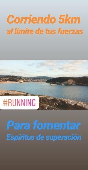 corriendo 5 km