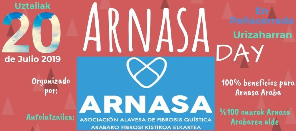 Arnasa Day portada cartel