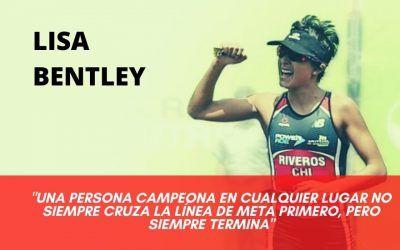 LISA BENTLEY: UNA ATLETA SIN FRENOS