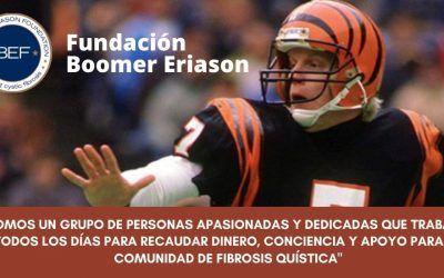 Fundación Boomer Eriason: El ex-quarterback por la FQ