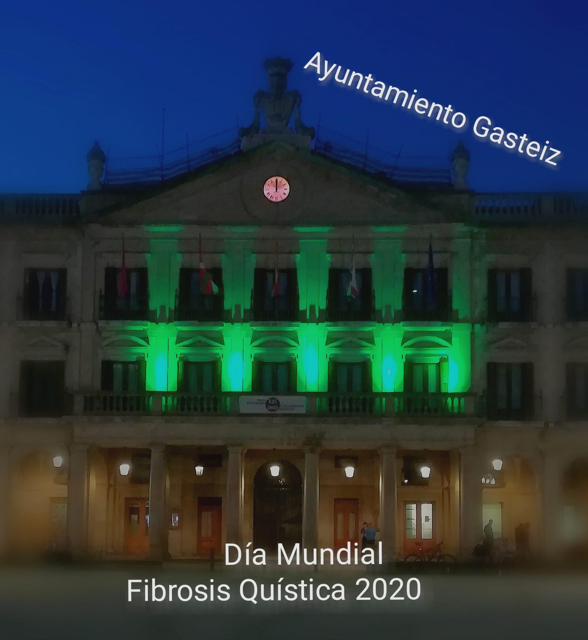Iluminacion Ayuntamiento de Gasteiz