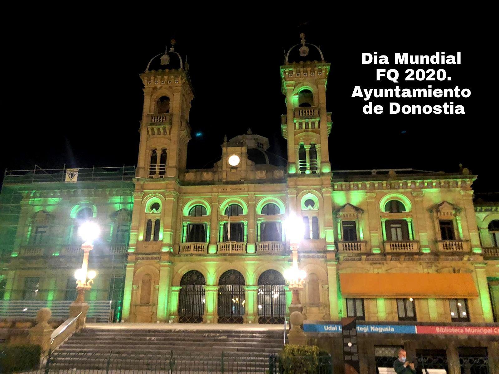Iluminacion ayuntamiento donostia