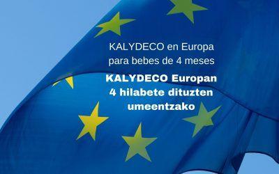 KALYDECO PARA BEBÉS DE 4 MESES EN EUROPA
